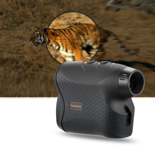 600 Yards 6X25mm Laser Range Finder Golf Rangefinder with Flag Locking Scan Fog Modes Distance Speed Measurement for Outdoor Hunting Horse Racing thumbnail