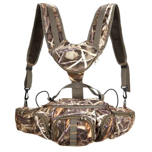 Многофункциональная сумка для камуфляжа для наружного похода Рыбалка Отдых на природе Спорт Охота Fanny Pack