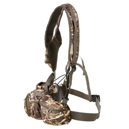 Многофункциональная сумка для камуфляжа для наружного похода Рыбалка Отдых на природе Спорт Охота Fanny Pack фото