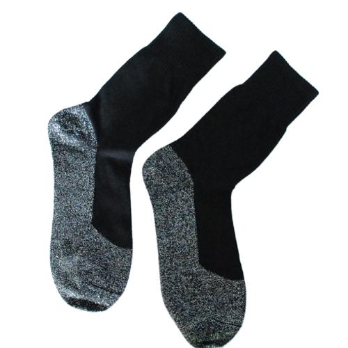 Зимние аллюминные волокна Носки 35 градусов Теплые носки Спортивные носки Мужчины Женщины Удобные держатели для душа Носки