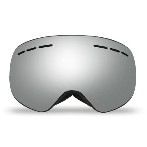 Зимние лыжи Goggle UVA400 Защита Двойные линзы Сноуборд OTG Сферические противотуманки Снегоходы Катание на лыжах Спорт Goggle Съемный магнитный объектив Goggle
