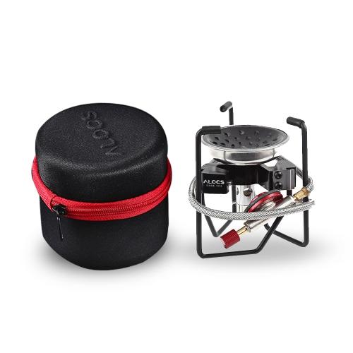 Наружная складная газовая плита Легкий переносной кухонный шкаф для кемпинга Backpacking Travel