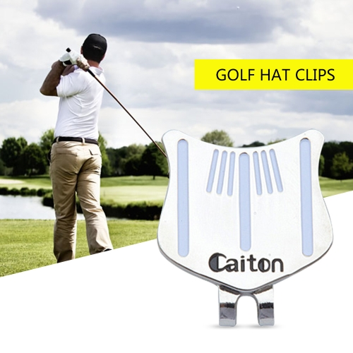 1PCS Professional Golf Cap Clip Magnetic Hat Clips Metal Golf Ball Markers Golf Sports Accessory