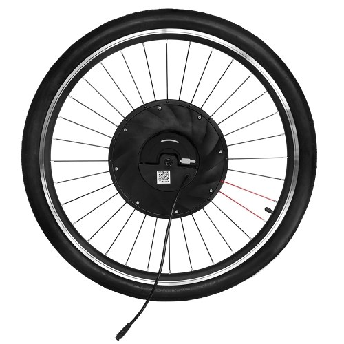 IMORTOR 26 inch Smart Electric Front V Brake Bicycle Wheel