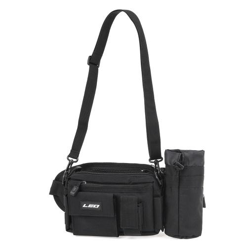 Multifunctional Fishing Waist Pack Breathable Single Shoulder Bag