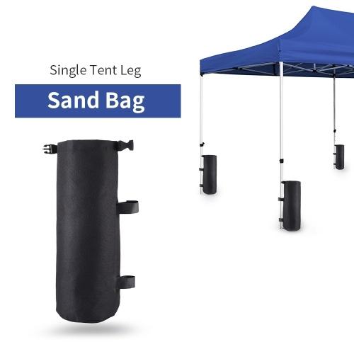 Image of Einzelzelt Gewicht Fit Tasche Baldachin Bein Gewicht Tasche Leere Sofortige Zelt Sandsack Outdoor Sun Shelter Zelt Terrasse Zubeh