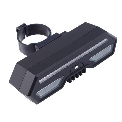 Водонепроницаемый USB аккумуляторная светодиодная велосипедная задняя подсветка фото