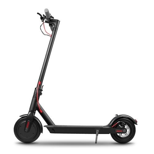 KV986 Portable 8.5 Inch Two Wheel Folding Electric Scooter 18 - 25km Range