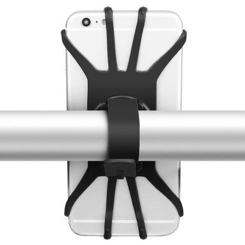 Montagem de telefone de bicicleta montagem bicicleta telefone silicone