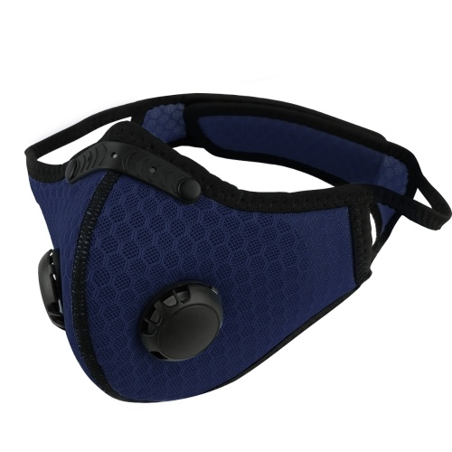 nti-Dust Cycling Mask Activated Carbon Filtration Exhaust Gas Image