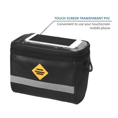 Insulated Bicycle Handlebar Cooler Bag Image