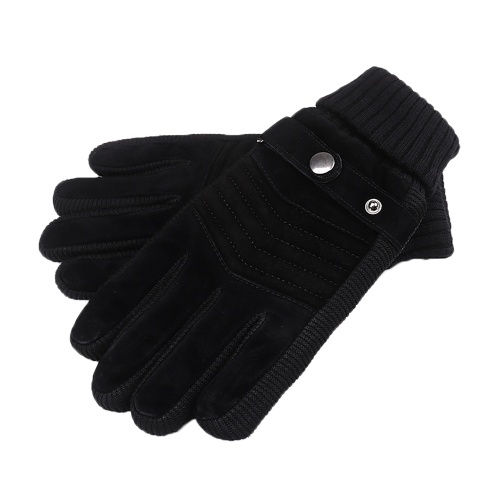 Winter Warm Gloves Windproof Fleece Touchscreen Sports Cycling Skiing Outdoor Work Gloves Image