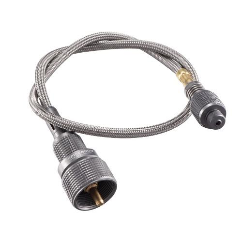 CAMPINGMOON Z16 + Z22 Außenbrenner Verlängerungsrohröfen Zubehör Geteilte Brenner Verlängerungsadapter Flachgastanks Verbindungskabel mit Umrüstkopf