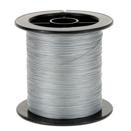 100 М супер сильным мультифиламентные полиэтилена Плетеные лески 6 фунтов до 60 фунтов