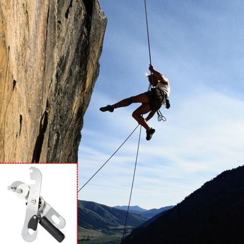 Lixada Stop Discensore autofrenante per corda singola di arrampicata, speleologia sartiame Rescue