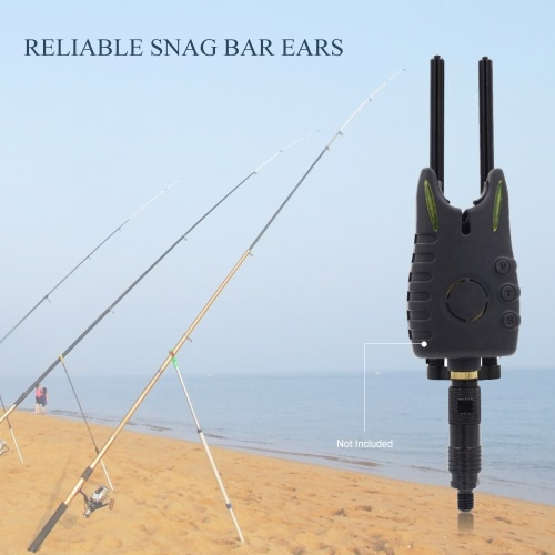 Lega di alluminio Carp Fishing antivento parabrezza Snag Bar bar orecchie anti caduta Snag Bar Carp Fishing Tackle Accessori Kit per pesca di allarme