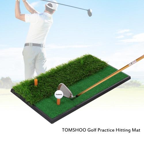 TOMSHOO Mini Golf Tee Golf Fairway ruvida Turf pratica tappetino da addestramento T Shots Shots grezzi Pratica Golf Mat Colpire