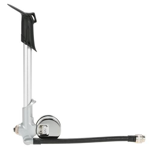 Mini bicicletta portatile aria della pompa di alimentazione del ciclo della bici Pompa d'aria di pressione d'aria di gonfiaggio con manometro per American valvole