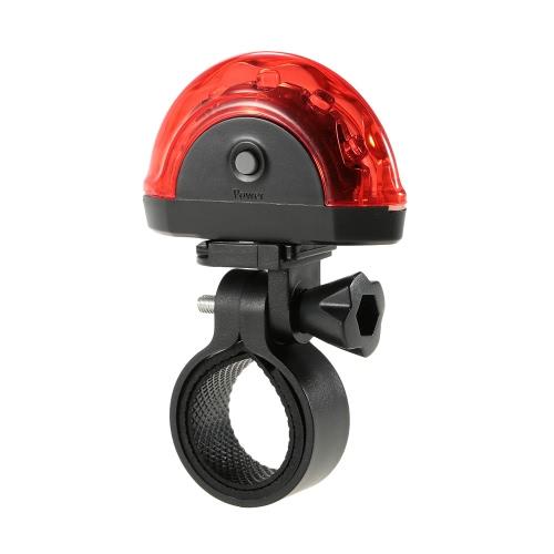 Bici della bicicletta Fascio di luce posteriore posteriore fanale posteriore a LED Attenzione sicuro della lampada