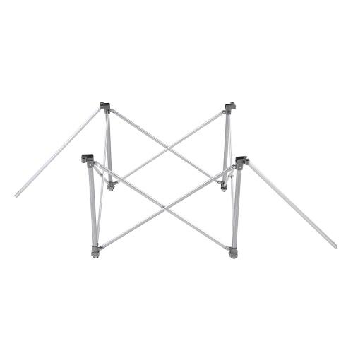 Регулировка по высоте складной столик Открытый Портативный алюминиевый сплав Кемпинг Стол Стол Мебель Складная стол для пикника с сумка для переноски фото