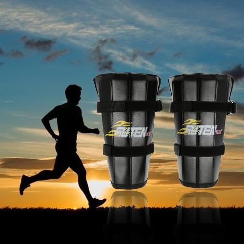 Par de tobillo ajustable Pesos de la pierna de la correa de la aptitud del ejercicio Apoyo máquina de musculación