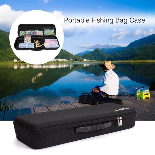 Портативный Рыбалка сумка EVA противоударный Удочка и катушка Carry Bag удочка хранения сумка Рыбалка Охота снасти инструмент шестеренки Организатор
