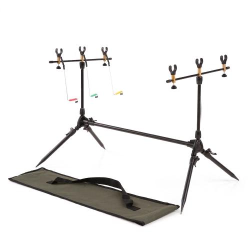 Einstellbare Retractable Carp Fishing Rod Pod Ständer Halter Angelrute Pod Ständer Angeln Angeln Zubehör Tackle