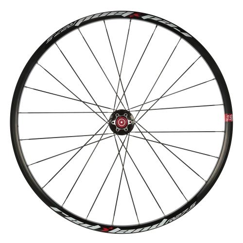 """Ultraleicht MTB 27,5 """"Laufradsatz 24 Loch Mountainbike Räder Set Front 2 Hinten 5 Lager 8-10 Geschwindigkeit Kassette Kompatibel"""