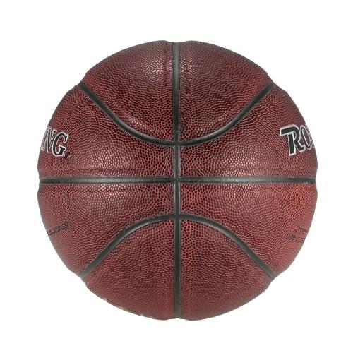 Cuoio Outdoor Indoor Ufficiale Size 7 pallacanestro durevole della sfera di pallacanestro partitella attrezzature di gioco palla