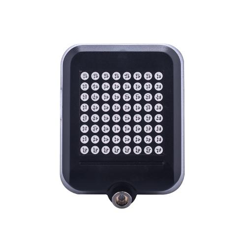 AQY 64 LED 80LM Intelligente Sicherheits-Fahrrad-Rücklicht