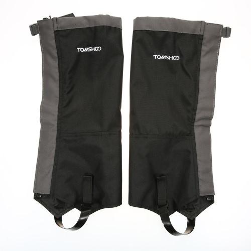 TOMSHOO 1 пара набедренников из снежного покрова Снег-нога для сапог-рейки для наружного применения Высокий налет для восхождения на лыжах Пешие прогулки Охота