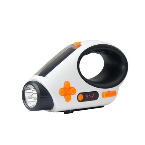 Открытый солнечный аварийный радио фонарик