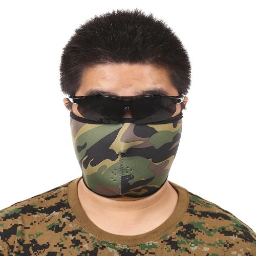 Maschera viso protettiva maschera traspirante per ciclisti sci alpinismo Sport all'aria aperta