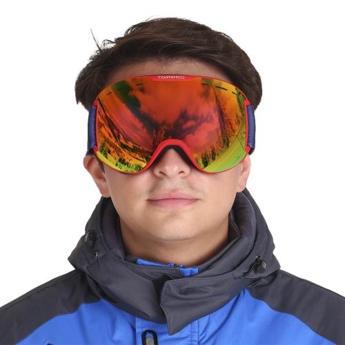 TOMSHOO OTG Inverno Neve Sport Occhiali da Sci