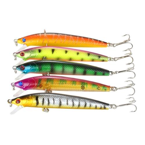 Pack of 71pcs Mixed Fishing Lure Set Kit Minnow Lures Crankbaits Artificial Hard Lure Bait Bass Carp Fishing Tackle Image