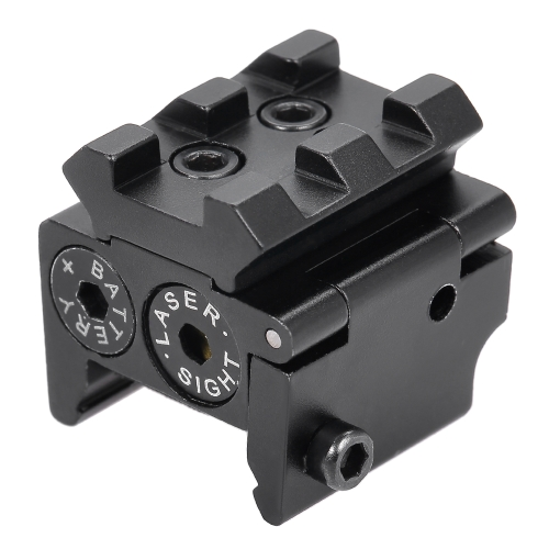 Red Dot Sighting Scope Mirino monoculare Puntatore Laser Cannocchiali Caccia tiro a segno Reflex Scope con Rail Mount