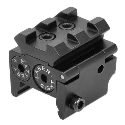 Red Dot Zielfernrohr Monokulare Sichtung Pointer Laser Zielfernrohre Jagd Schießen Reflex Scope mit Schiene Montieren