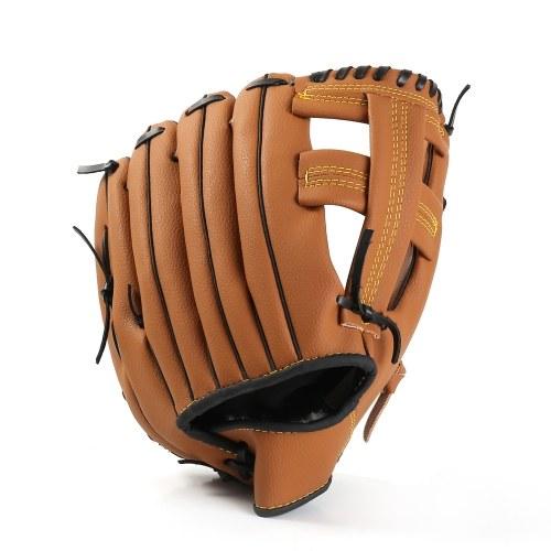 Luvas de beisebol do jarro do infield Luvas de couro do softball dos esportes exteriores de Brown