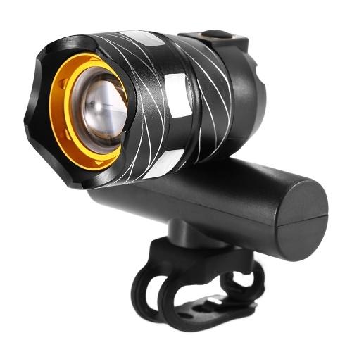 Luce anteriore per bici zoomabile