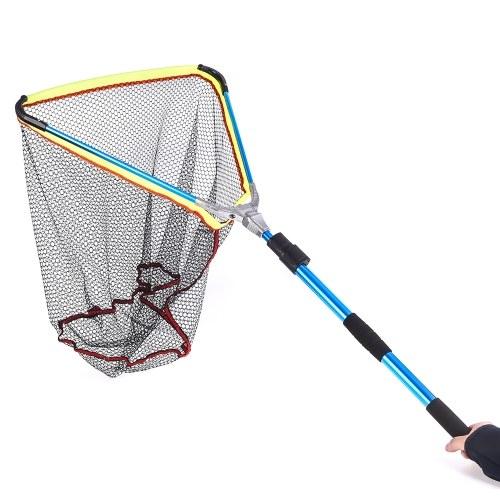 200cm / 79 Inch Telescopic Aluminum Fishing Landing Net Fish Net with Extending Telescoping Pole Handle Image