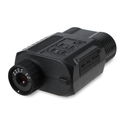 Visore notturno digitale ad infrarosso Visore monoculare Zoom ottico 200m Visore notturno