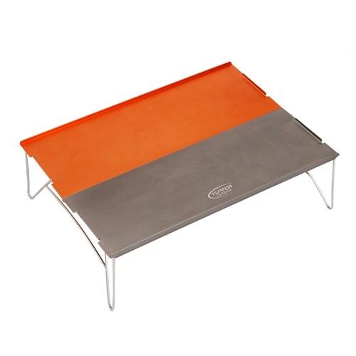 Mesa de camping plegable portátil ultraligera para exteriores
