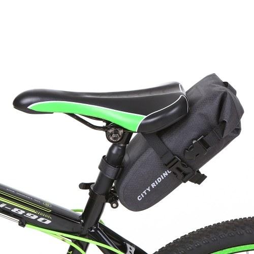1.5L Велосипед Седло Сумка Велоспорт Сиденье Сумка Водоотталкивающий Велосипед Заднее Сиденье Мешок MTB Дорожный Велосипед Хвост Сумка Для Хранения фото