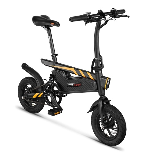 Ziyoujiguang T18 12 Inch Folding Power Assist Eletric Bicycle