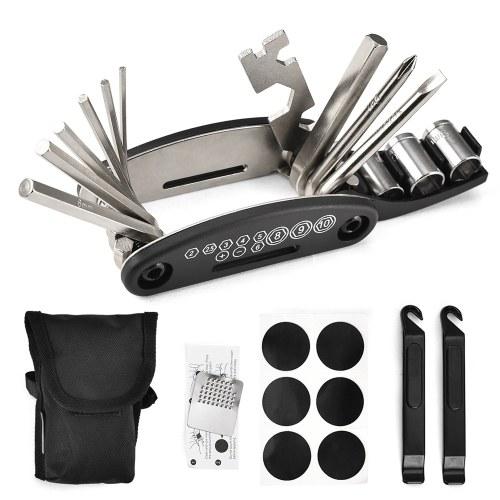 Kit de ferramentas de reparação de bicicletas