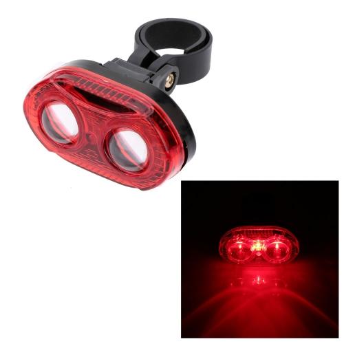 Luz trasera bicicleta super brillante 3 LED luz trasera 3 modos de la lámpara