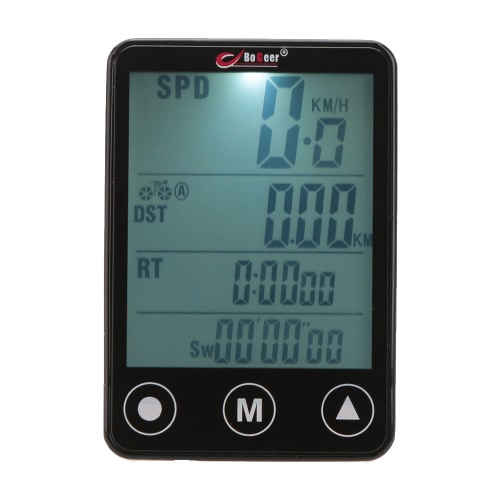 Multifunktionale Touch Screen LCD Fahrrad Computer Tacho Tachometer