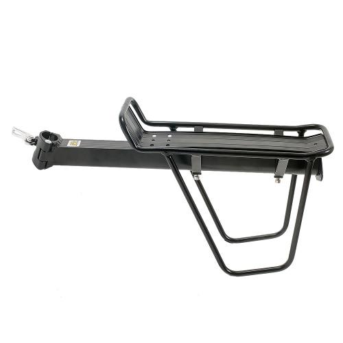 MTB de la bicicleta portador de soportes de poste del asiento trasero del estante de aleación de aluminio de eliminación rápida e instalación