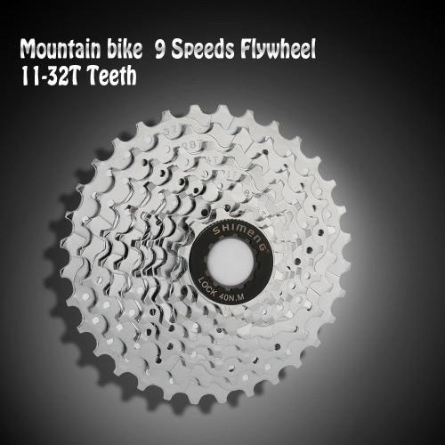Volano meraviglioso per la vostra bicicletta. w.t.c w.t.c w.t.c caratteristiche: volano di w.t.c 9 velocità cassetta. Numero di denti su ogni floor:11-12-14-16-18-21-24-28-32 w.t.c. w.t.c può essere applicato in bici da montagna, bicicletta, triciclo, veicolo elettrico ecc w.t.c w.t.c w.t.c specifiche: w.t.c colore: argento w.t.c materiale: acciaio w.t.c dimensione: 13 * 13 * 4,1 cm / 5.12 * 5.12 * 1,61 in w.t.c peso: 372g/13,14 oz w.t.c w.t.c w.t.c lista del pacchetto: w.t.c 1 * 11-32T Cassette volano w.t.c