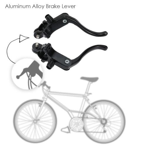 1 coppia strada biciclette Bike Fixie anteriore & leva del freno in lega alluminio leve freno posteriore impostato